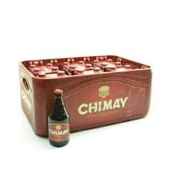 Chimay 6° rouge 24 x 33 cl