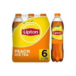 Lipton ice tea peche 6 x...